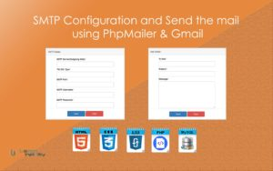 SMTP Configuration and Send the mail using PhpMailer and GMail