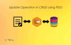 Update Operation in CRUD using PDO