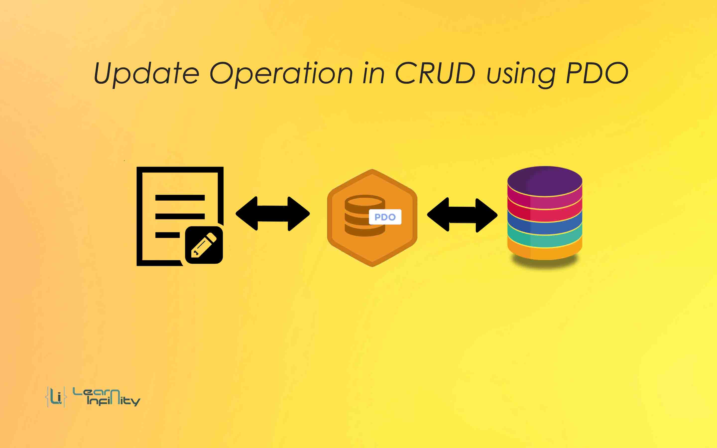 Update Operation in CRUD using PDO – Part 3