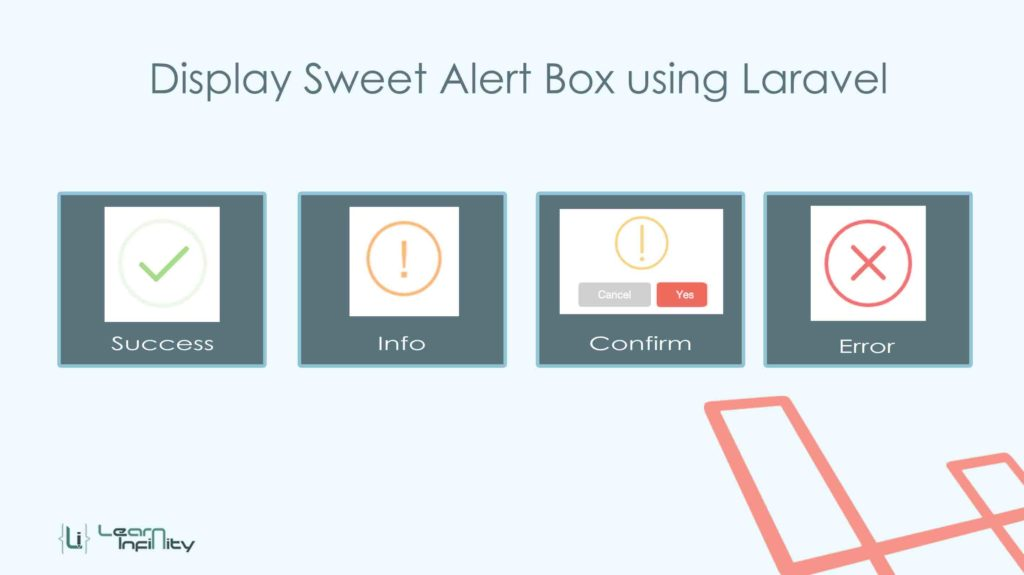 Display Sweet Alert in Laravel using uxweb/sweet-alert
