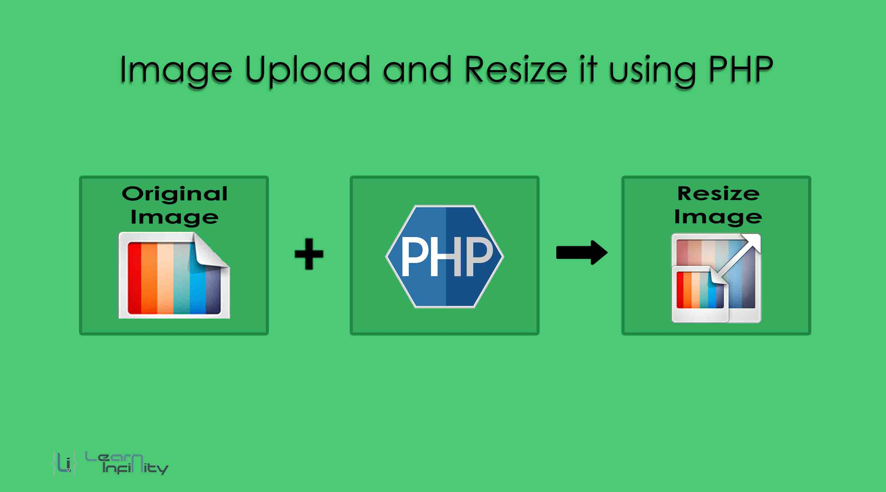 Image Upload and Resize it using PHP