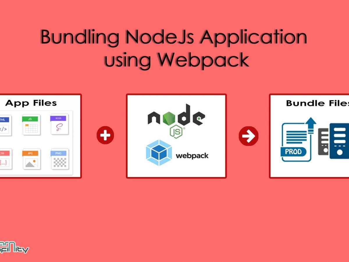 Bundling NodeJs Application using Webpack ~ Learn Infinity