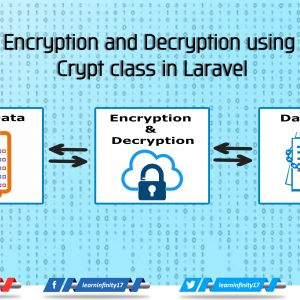 Encryption and Decryption using Crypt class in Laravel